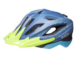 Fahrradhelm KED Street Mips - blue green