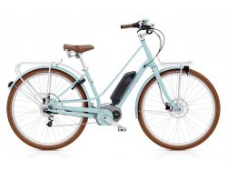 Townie Loft GO! 8i EQ- Urban-Cruiser - Aqua