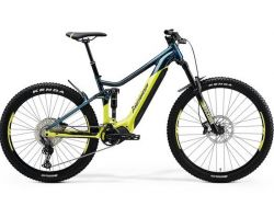 eONE-Sixty 500 - türkisblau/lime - 630WH - E-Fully - Shimano Deore