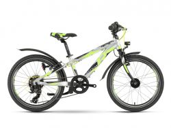 Mountainbike Raymon Tworay 1.0 Street - Shimano - grey-black-green - 27cm