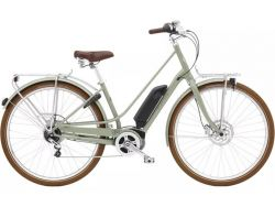 Townie Loft GO! 5i StepThru- 500Wh - Urban-Cruiser - GreenTea