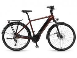 Ebike Winora Sinus i10 - 500Wh - InTube-Battery - Herrenrad - Piemontrot