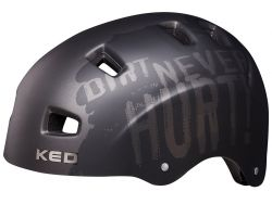 Fahrradhelm KED 5Forty Dirt - black matt