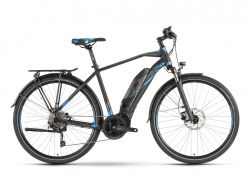 Ebike Raymon Tourray 5.0 - Herrenrad - black/blue/dark grey