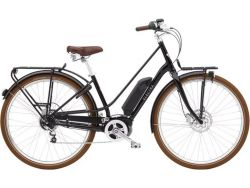 Townie Loft GO! 5i StepThru- 500Wh - Urban-Cruiser - Black