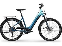 Country R960i - blauverlauf - 625WH - Cross & Country / Cityrad - Shimano Deore