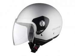 Motorradhelm Jethelm LS2 OF518 Midway - silber