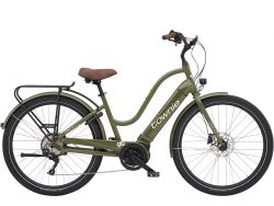Townie Path GO! 10D EQ- Urban-Cruiser - Olive