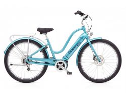 Townie Path GO! 10D EQ- Urban-Cruiser - Aqua Metallic
