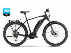 Ebike Raymon Tourray 7.0 - black/blackmatt - Gents