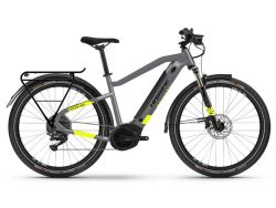 Trekking 6 - cool grey-red - 500Wh - Herrenrad - Shimano Deore 10-G