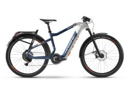 Flyon XDuro Adventr 5.0 - 630Wh - weiß/blau/orange