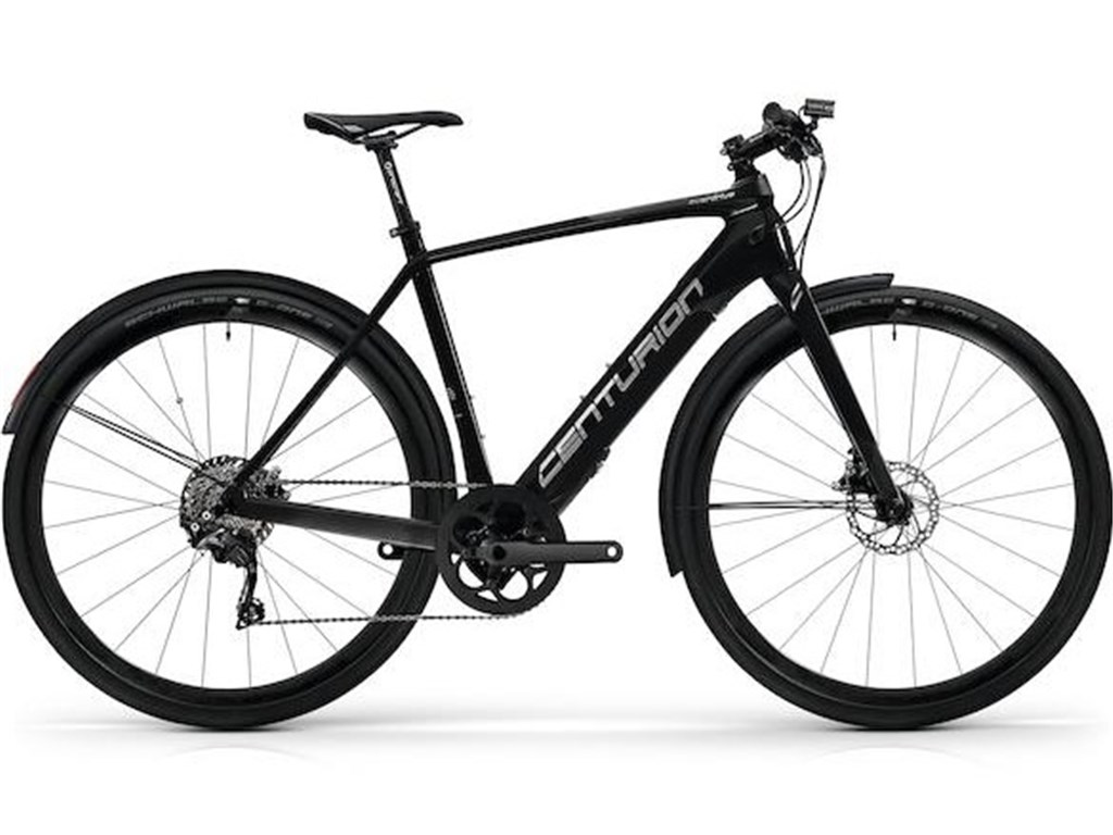 Overdrive Carbon City Z3000 EQ - schwarz - 250Wh -Sportiv / Road - Shimano Deore XT