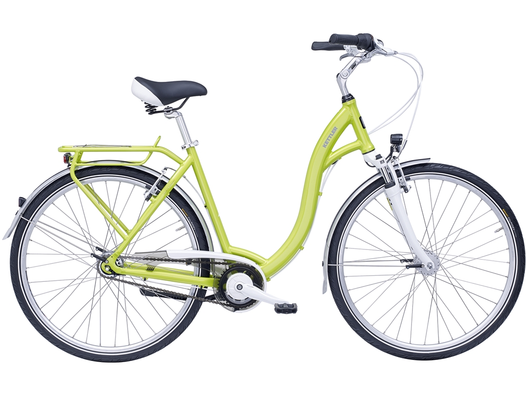 Kettler. Cityrad Layana Freilauf - Electric-Lime-Glossy