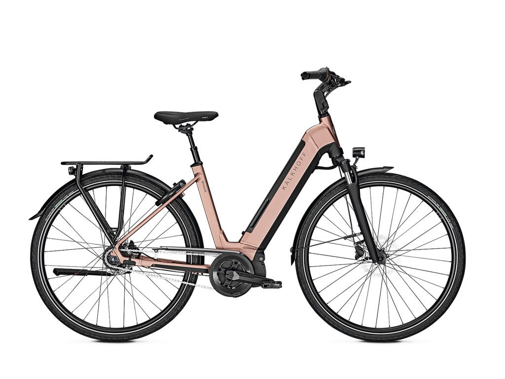 Ebike Kalkhoff Image 5.I Move R - 500Wh – City-E-Bike - blackmatt-brown-metallic